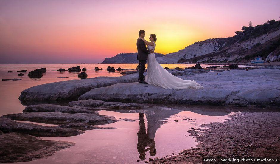 Il matrimonio di Walter e Selenia a Canicattì, Agrigento