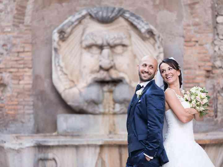 le nozze di Stefania e Moreno