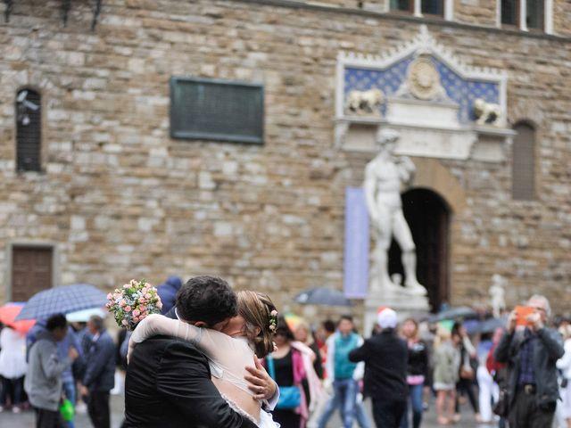 Il matrimonio di Enrico e Barbara a Firenze, Firenze 98