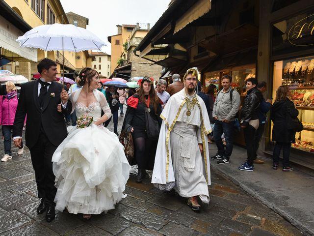 Il matrimonio di Enrico e Barbara a Firenze, Firenze 93