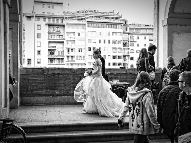 Il matrimonio di Enrico e Barbara a Firenze, Firenze 100