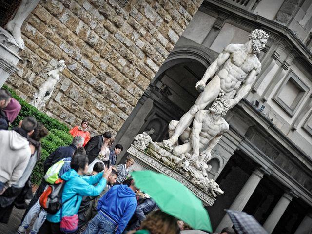 Il matrimonio di Enrico e Barbara a Firenze, Firenze 105