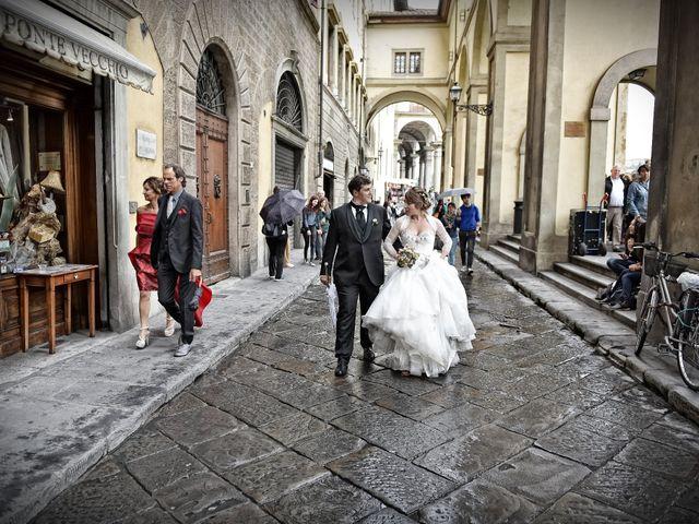 Il matrimonio di Enrico e Barbara a Firenze, Firenze 107