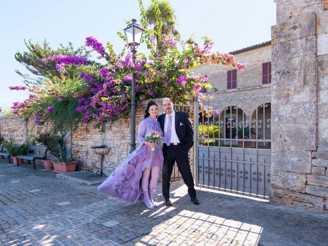 Il matrimonio di Francesco e Loredana a Porto San Giorgio, Fermo 1