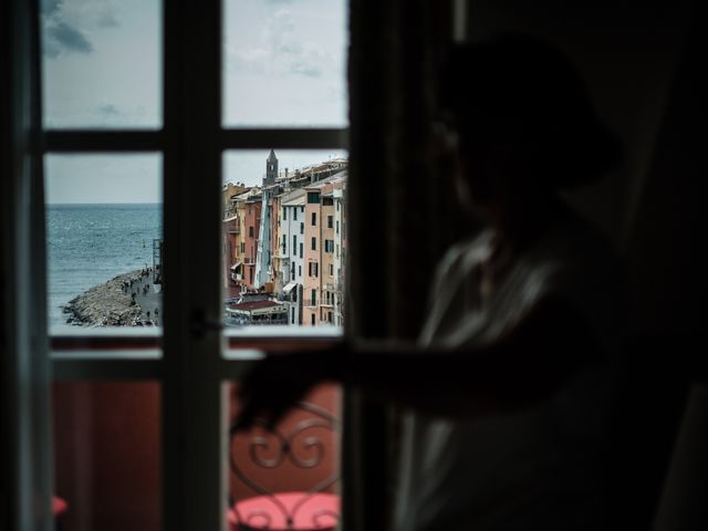Il matrimonio di Brando e Kristin a Portovenere, La Spezia 3