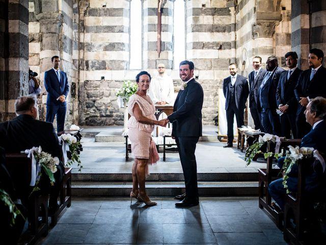 Il matrimonio di Brando e Kristin a Portovenere, La Spezia 73
