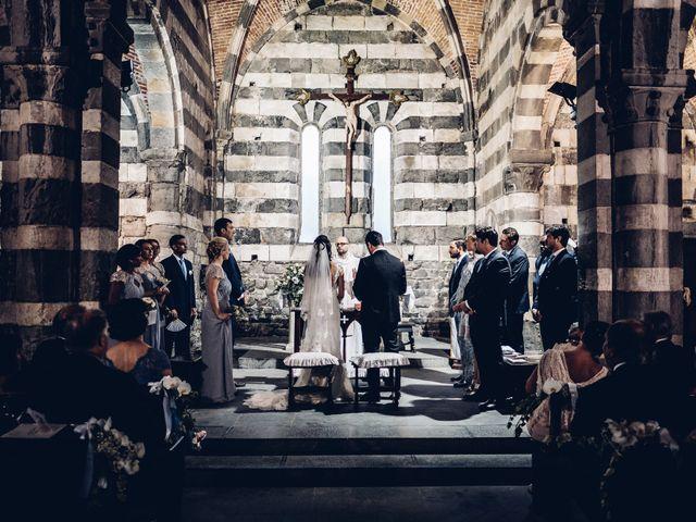 Il matrimonio di Brando e Kristin a Portovenere, La Spezia 101
