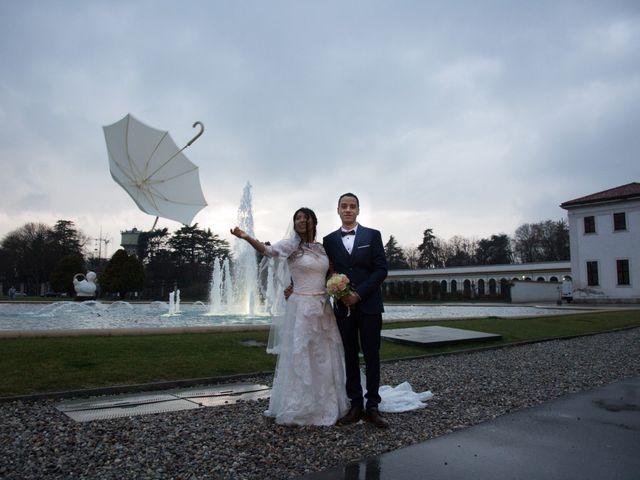 Il matrimonio di Tiago e Francesca a Concorezzo, Monza e Brianza 1