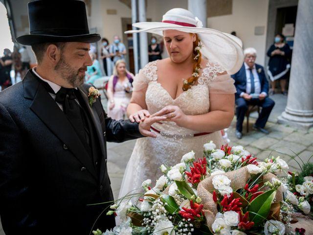 Il matrimonio di Alessandro e Romina a Sarzana, La Spezia 21