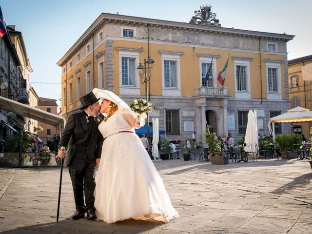 Il matrimonio di Alessandro e Romina a Sarzana, La Spezia 36
