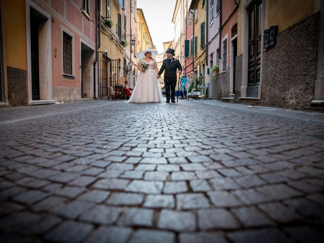 Il matrimonio di Alessandro e Romina a Sarzana, La Spezia 37