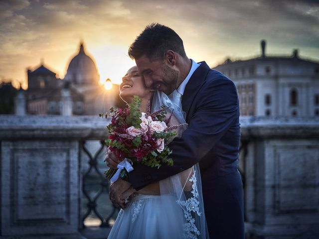 Il matrimonio di Andrea e Virginia a Roma, Roma 1