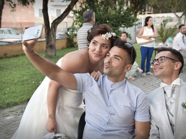 Il matrimonio di Francesco e Sabrina a Elmas, Cagliari 81