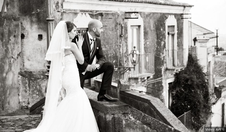 Il matrimonio di Mirko e Romina a Catania, Catania