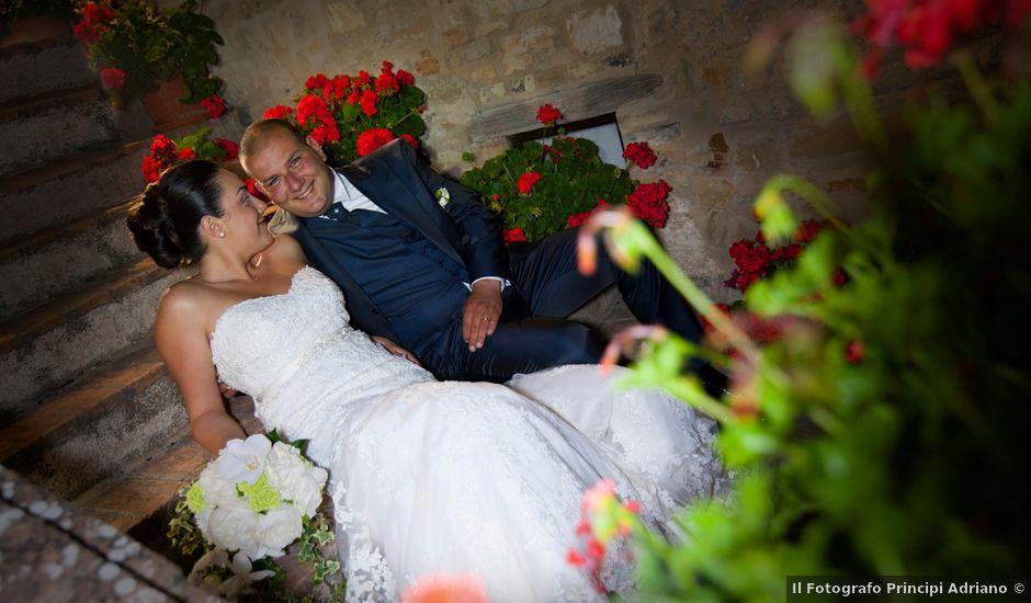 Il matrimonio di Matteo e Giada a Caldarola, Macerata