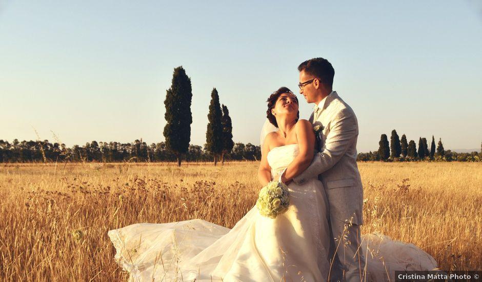 Il matrimonio di Francesco e Sabrina a Elmas, Cagliari