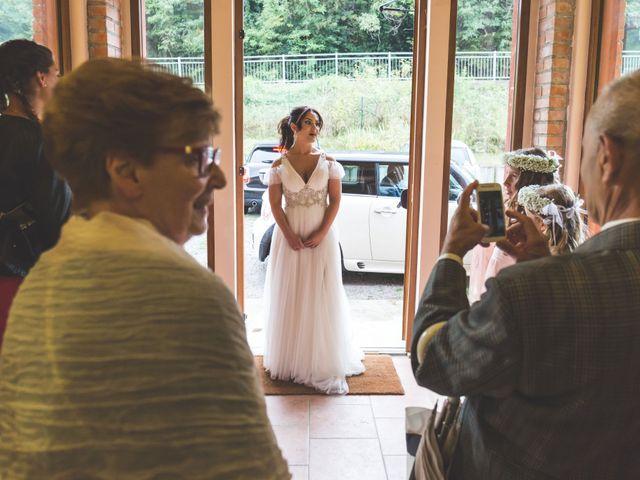 Il matrimonio di Luca e Debora a Grandate, Como 22