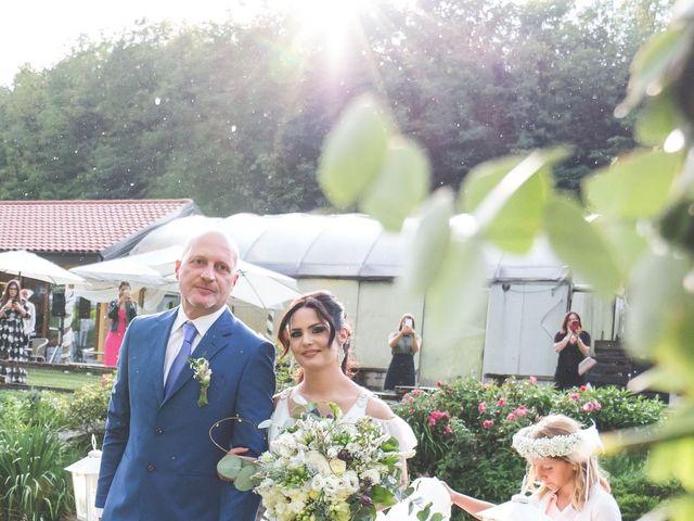 Il matrimonio di Luca e Debora a Grandate, Como 34