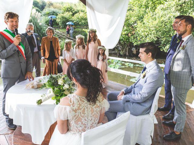 Il matrimonio di Luca e Debora a Grandate, Como 41