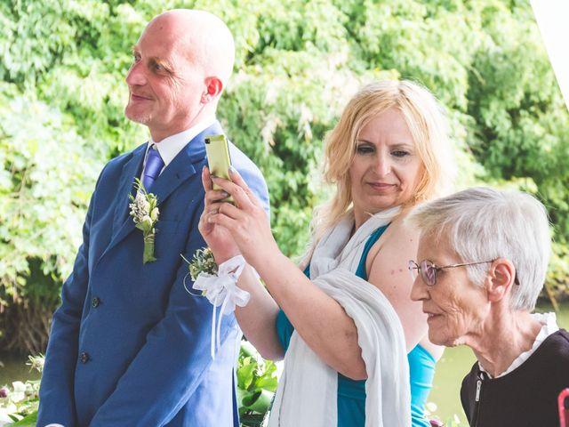 Il matrimonio di Luca e Debora a Grandate, Como 45