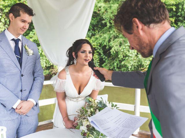 Il matrimonio di Luca e Debora a Grandate, Como 47