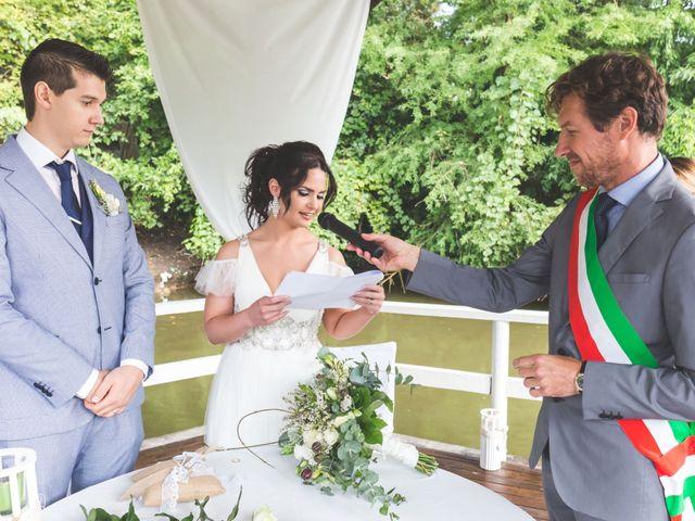 Il matrimonio di Luca e Debora a Grandate, Como 52