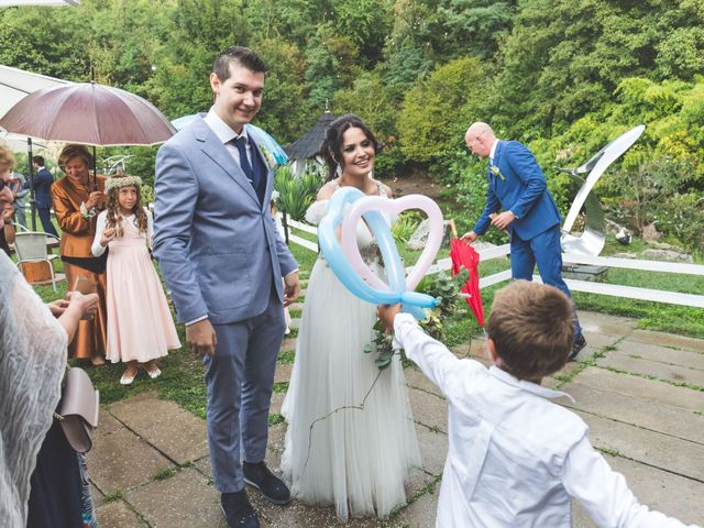 Il matrimonio di Luca e Debora a Grandate, Como 66