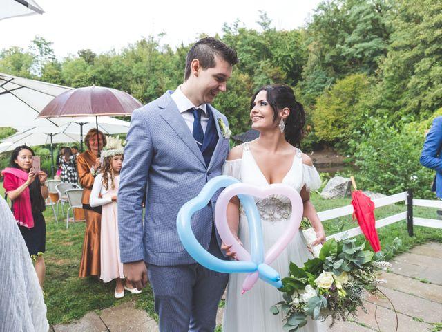 Il matrimonio di Luca e Debora a Grandate, Como 67