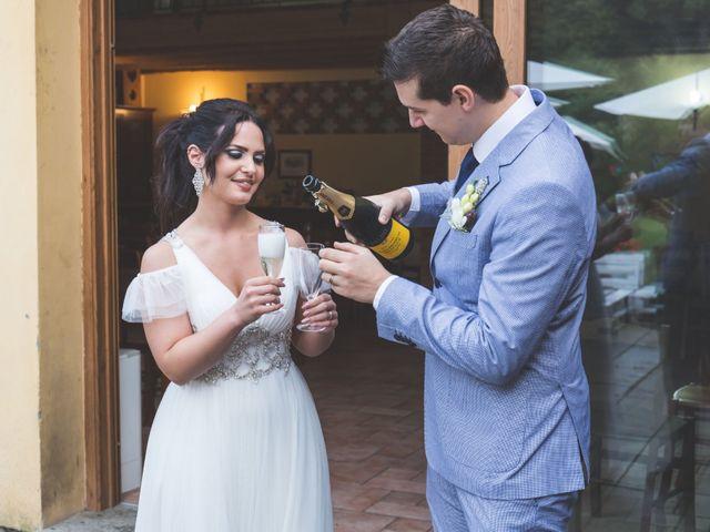 Il matrimonio di Luca e Debora a Grandate, Como 74