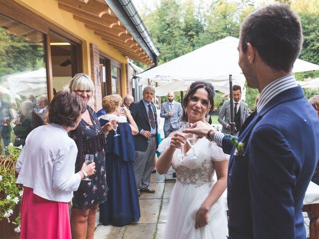 Il matrimonio di Luca e Debora a Grandate, Como 82