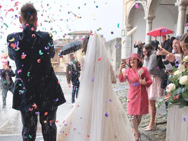 Il matrimonio di Daniele e Claudia a Dossena, Bergamo 22