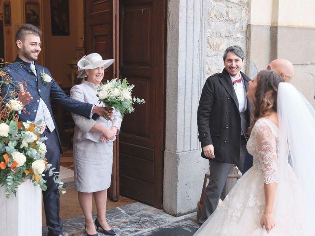 Il matrimonio di Daniele e Claudia a Dossena, Bergamo 11