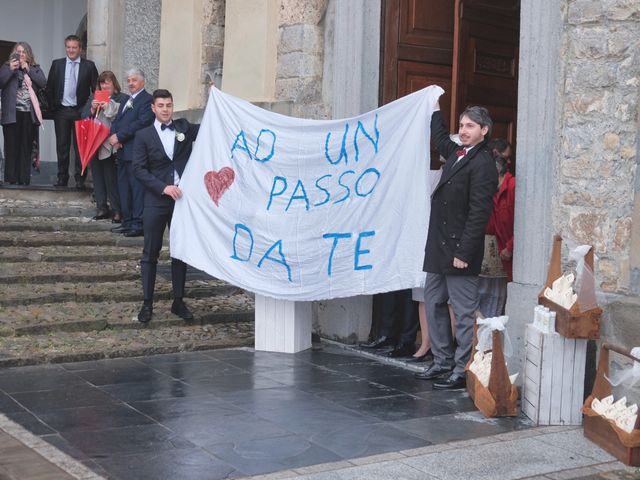 Il matrimonio di Daniele e Claudia a Dossena, Bergamo 8