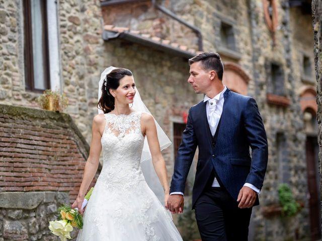 Il matrimonio di Davide e Veronica a Pescia, Pistoia 43