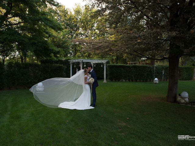 Il matrimonio di Alessio e Martina a Busto Arsizio, Varese 28
