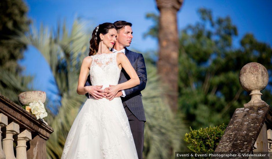 Il matrimonio di Davide e Veronica a Pescia, Pistoia