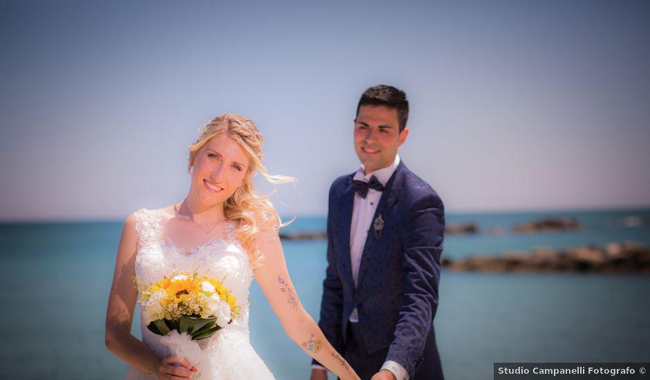 Il matrimonio di Irene e Alan a Montefiore dell'Aso, Ascoli Piceno