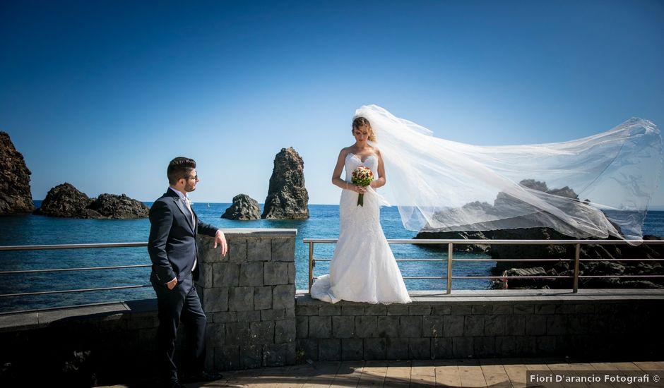 Il matrimonio di Alessio e Francesca a Trecastagni, Catania