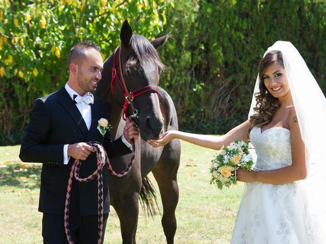le nozze di Claudia e Yuri