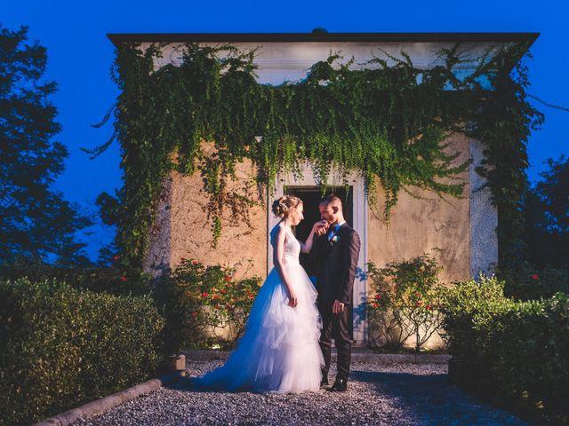 Il matrimonio di Stefano e Francesca a Cassano Magnago, Varese 112