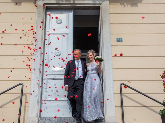 Il matrimonio di Michele e Natalia a Cantù, Como 17