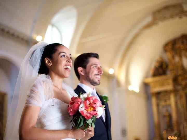 le nozze di Solange e Simone