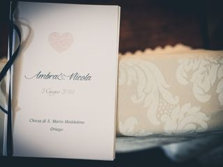Le nozze di Ambra e Nicola 1