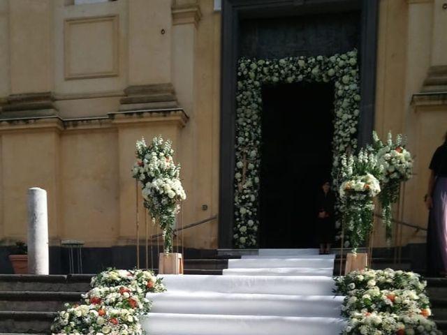 Il matrimonio di Flavia e Alberto a Lettere, Napoli 3
