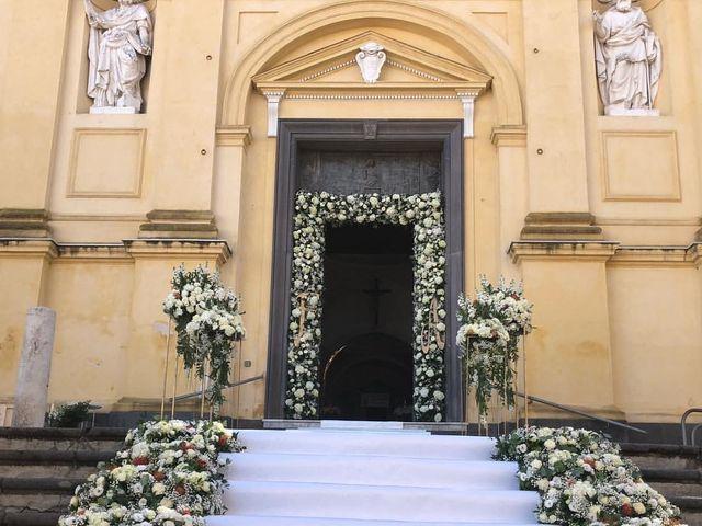 Il matrimonio di Flavia e Alberto a Lettere, Napoli 5
