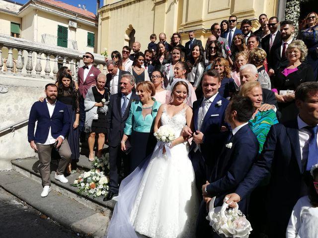 Il matrimonio di Flavia e Alberto a Lettere, Napoli 1