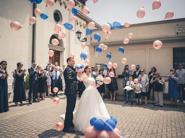 Il matrimonio di Nicola e Ambra a Treviso, Treviso 43
