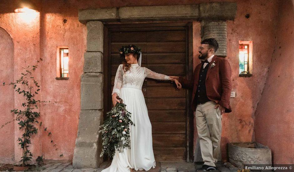 Il matrimonio di Simona e Vincenzo a Grottaferrata, Roma