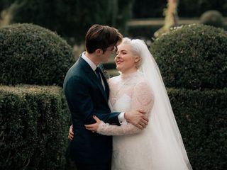 Le nozze di Csilla e Sean
