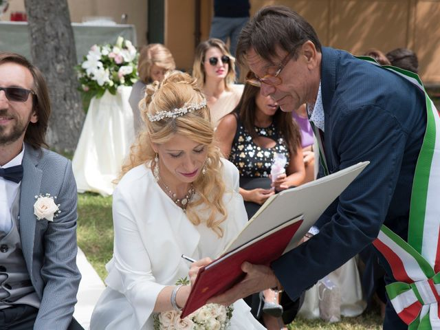 Il matrimonio di Francesco e Sara a Caprarola, Viterbo 11